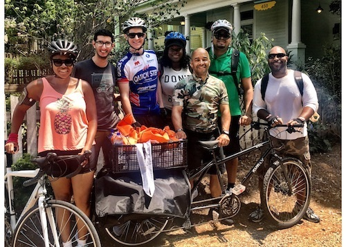 Cycling for Good with the Patriot